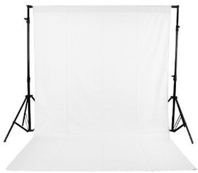 8 x12 FT WHITE LEKERA BACKDROP PHOTO LIGHT STUDIO PHOTOGRAPHY BACKGROUND