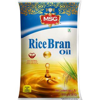 MSG Premium Rice Bran Refined Oil 1L