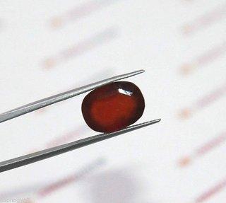 6.83 Ct Certified Natural Hessonite Garnet (Gomed) Loose Gemstone