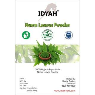 IDYAH Neem Powder, For Skin Care, Hair Care, Blood Purification, Regulates Healthy Sugar, Boost Immunity