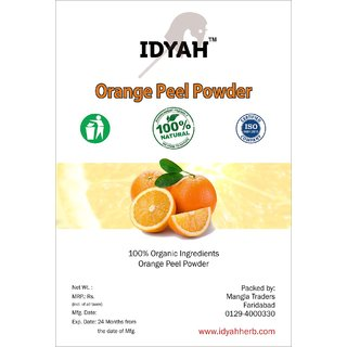 IDYAH Orange Powder, For Better Skin, Oil Control, Remove dark Spots and other Skin care