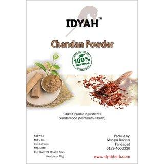 IDYAH Chandan Powder, Helps in removing Tan, Aniseptic, dark spots, Skin Softening