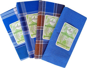 Fancy Cotton Lungi Pack of 4 pcs(Stitched Ready to wear)