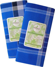 feathergreen Men Multicolor Lungi Stitched Ready to wear Pack of 2 pcs