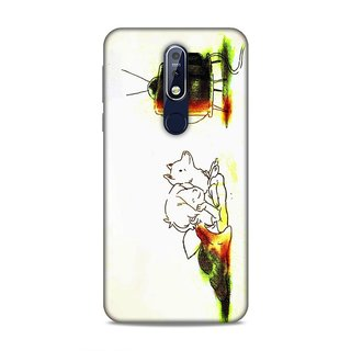 Printed Hard Case/Printed Back Cover for Nokia 7.1 Plus/ Nokia 8.1