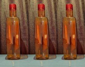 Plastic Multi Water Bottle ( 1000 ml , Set of 3 )