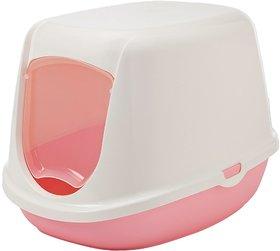 Savic Duchesse Cat Toilet (Baby Pink)