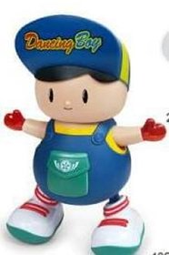Dancing Naughty Boy toys for Kids,with Music, 3D Flashing Lights