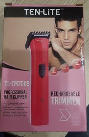 Ten-Lite Tl-Tm7009 Professional Hair Clipper Rechargeable Beard Trimmer For Men (Assorted)