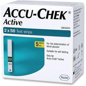 Accu-Chek Active 100 Sugar Test Strips