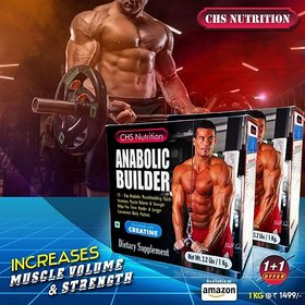 Champs CHS Nutrition Anabolic Builder 1 kg Mass Gainer Powder