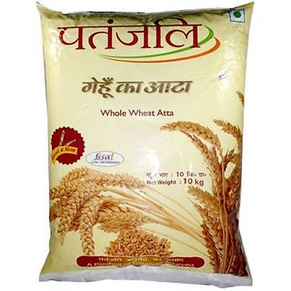 Patanjali Whole Wheat Atta 10 kg