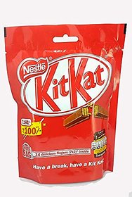 Nestle Kitkat Pouch 7X2 126G( Pack of 2 )