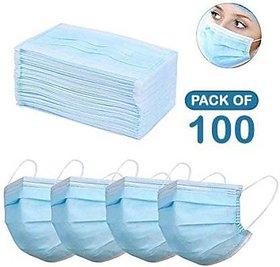 Pack of 100 Medical Mask- Flumask
