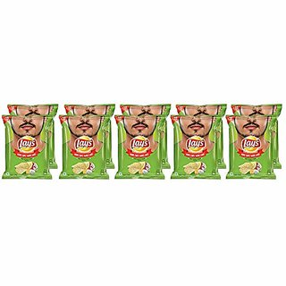 Lays American Cream & Onion, 30 gm( Pack of 2 )