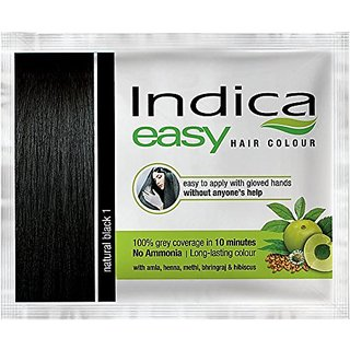 Indica Colour Natural Black 25 Ml( Pack of 3 )