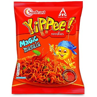 Yippee Magic Masala Noodles 60G( Pack of 10 )