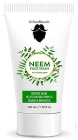 UrbanMooch Neem Face Wash For Instant Glow, Prevents Pimple  for Clear Skin 100gm