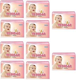 Curatio Skincare Tedibar Baby Bathing Bar - 75 g(Pack of 10)