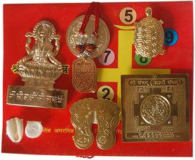Haridwar Astro Maha Laxmi Kuber Yantra with Laxmi Katha Book