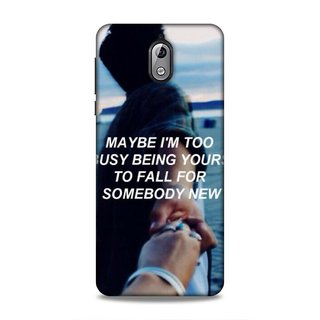 Printed Hard Case/Printed Back Cover for Nokia 3.1