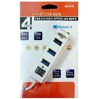 ONNIX ADNet USB 2.0, 4 Port USB Hub, Model AD 816