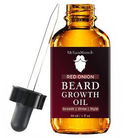 UrbanMooch Red Onion Beard Growth Oil Hair Oil(30 ml)