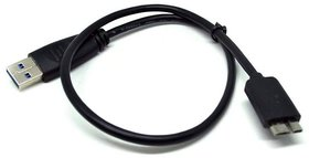 Ever Forever 0.5m HDD Cable USB 3.0 A to Micro B For External Hard Drive