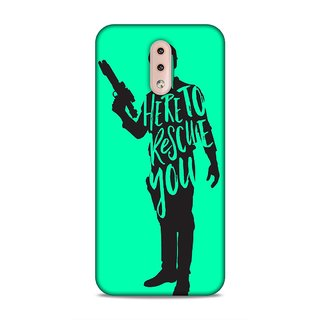 Printed Hard Case/Printed Back Cover for Nokia 4.2