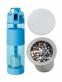 Shop Stoppers  Alkaline Water Bottle 650 ML BPA Free  Alkaline Bottle Balance PH Level  Filter Bottle