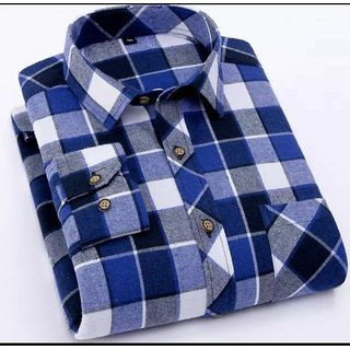 Special Look Check Shirt For Mens