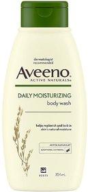 Aveeno Daily Moisturizing Body Wash For Normal To Dry Skin, 354 ml
