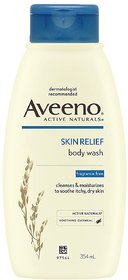 Aveeno Skin Relief Body Wash For Sensitive Skin, 354 ml