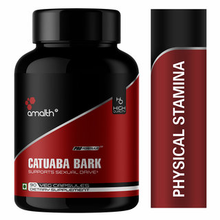 Catuaba Bark Extract Energy Booster for men, Energy 90 Capsules 930mg-Pack of 1