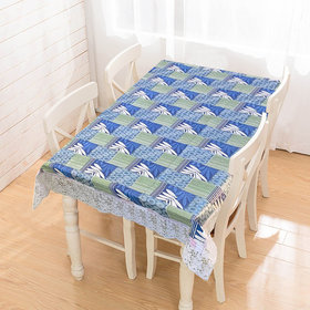 Waterproof Non-Woven PVC Printed 4 Seater Center Table Cover