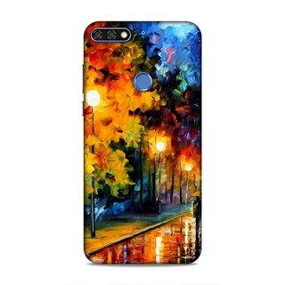 Printed Hard Case/Printed Back Cover for Honor 7C/Huawei Enjoy 8
