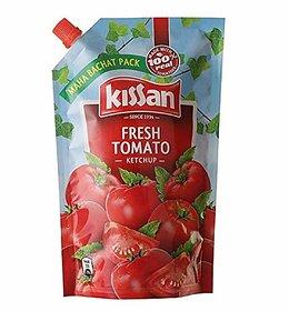 Kissan Fresh Tomato Ketchup Pouch (950 G)