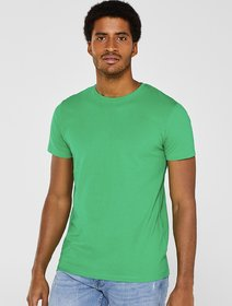 Lime Green Cotton T-shirt