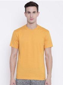Mustard Cotton T-shirt