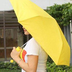 Shop Stoppers  Banana Shaped Triple Folded Umbrella  Mini and Unique Umbrella for Travel