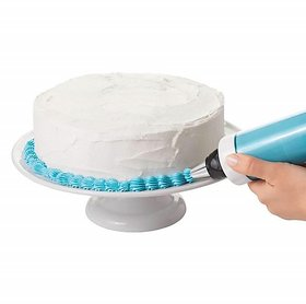 Shop Stoppers  Cake Turntable  Cake Decorating Turntable Stand, 28cm, White - ABS Plastic