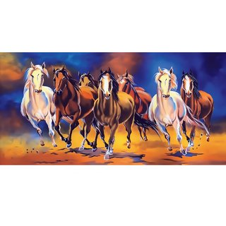 Style UR Home - Seven Horse Painting - 12 x 18