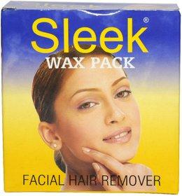 Sleek Facial Pack Wax 80 gms