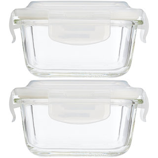 LooMantha 2Pc 320ml Lunch Box 2 Containers Lunch Box