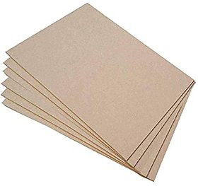 Incredible Gifts MDF Boards Sheets for DIY Activity (Set of 6, 12in x 15in x 1mm) A4 size