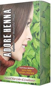 Adore Henna Natural Brown Hair Colour (100g)
