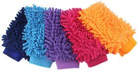 2pcs/lot Super Mitt Microfiber Car Wash Washing Cleaning Gloves Car Wash Gloves Microfiber Car cleaning brush car duster