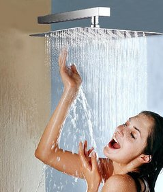 LOGGER - Ultra Slim Square Shower 4 Inches with 9 Inches Square Arm
