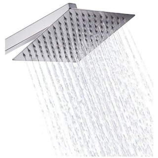 LOGGER - Ultra Slim Square Shower 6X6 Inches with 12 Inches Square Arm