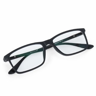 Intellilens Square Unisex Blue Cut Spectacles With Anti-glare for Eye Protection